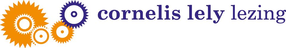 logo cornelis lely lezing
